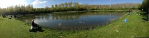 forellenvisvijver panorama foto forellenviswedstrijd 19 april 2014